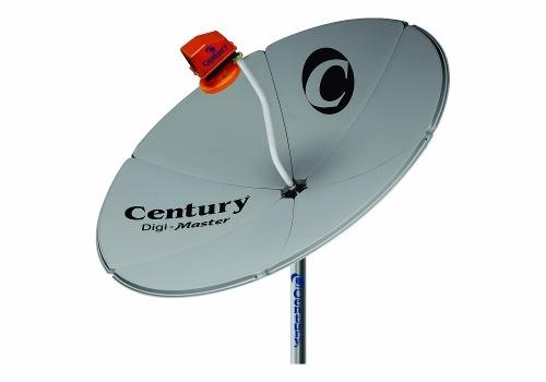 Antena Parabolica Century Completa Analógico Digital Sd