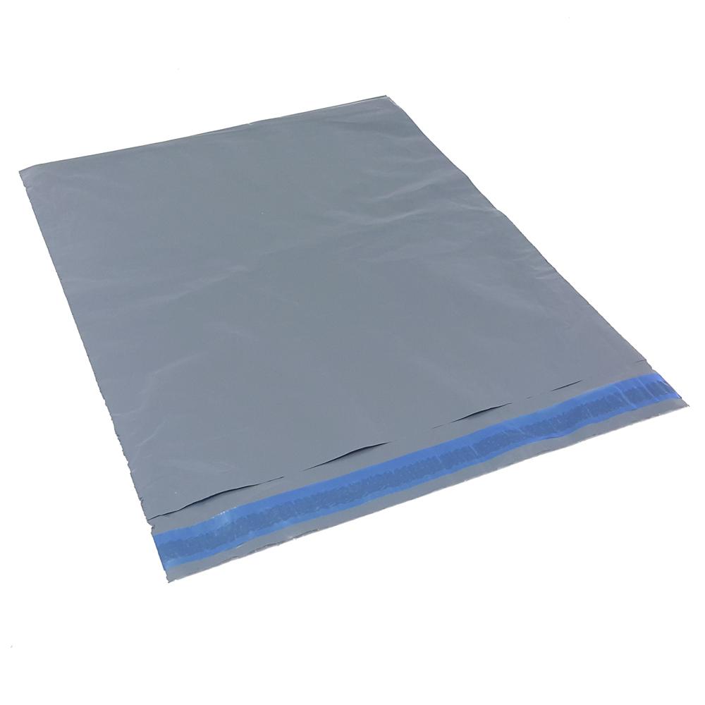 Envelope Plástico  Cinza De Segurança Com Lacre Inviolável Tipo Sedex 32 x 40  32x40