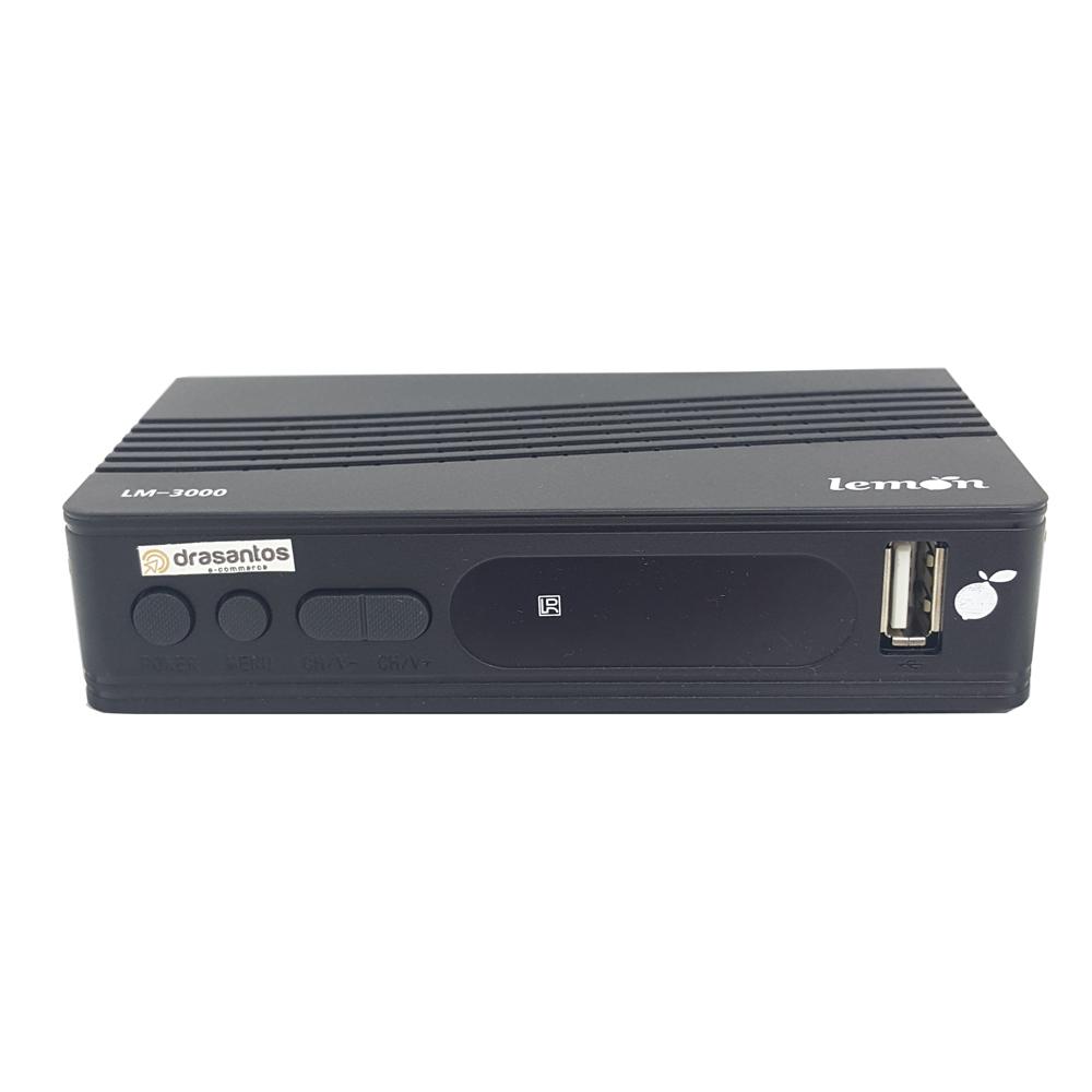 Conversor Digital HDTV e Gravador Digital Compatível Com Todos os Tipos de TV