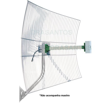 Antena Celular Externa Rural 22 dbi triband 1800 1900 2100 mhz