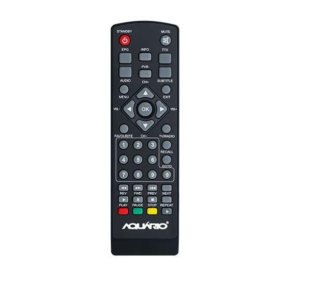 Controle Remoto Original Aquário Conversor Digital Dtv-5000