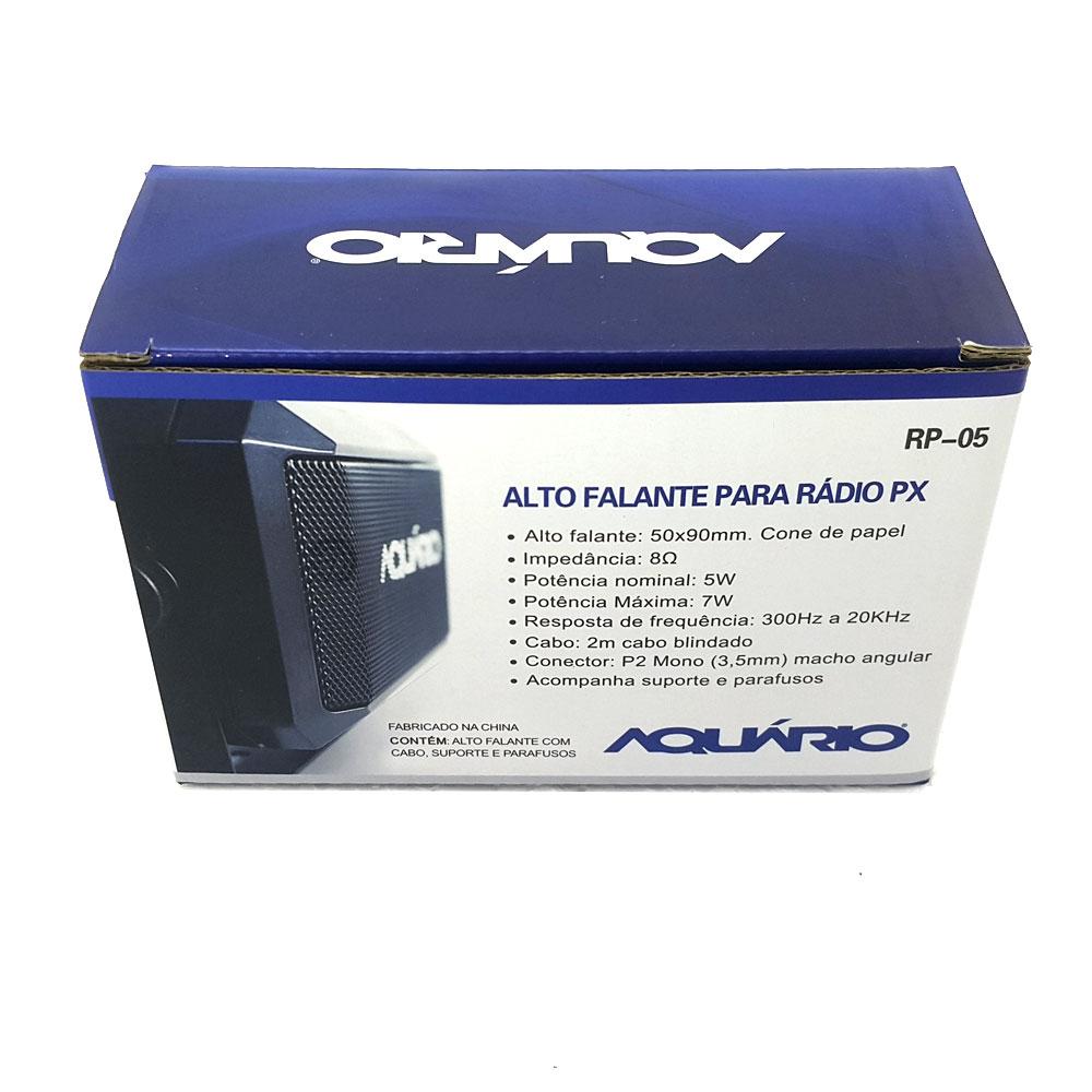 Auto Falante caixa de som Rádio PX Aquário RP05 P2