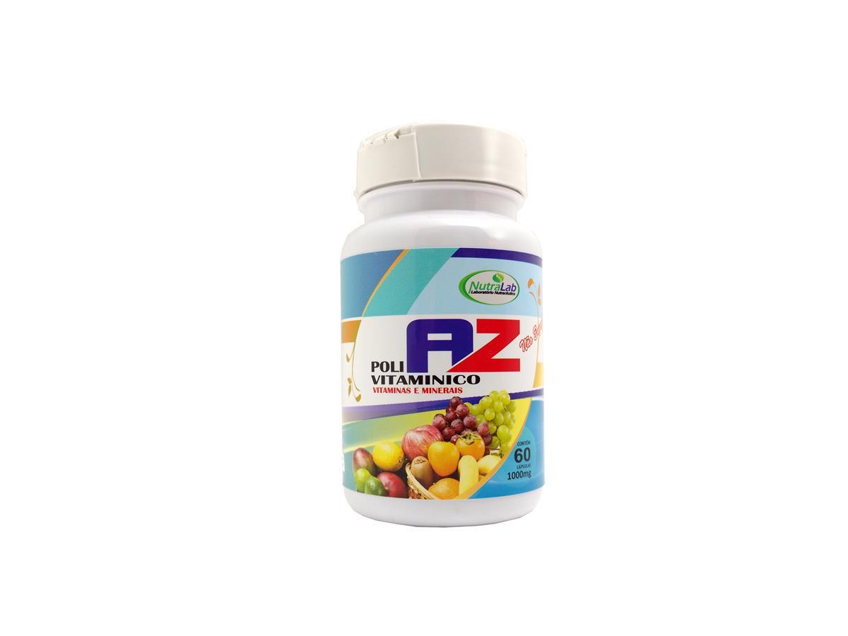 Suplemento Alimentar Vitaminas de A a Z - Polivitaminico De A a Z Complemento Vitamínico