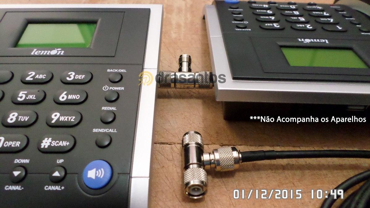 Divisor 2 Aparelhos Celular Modem na mesma Antena celular Rural Externa