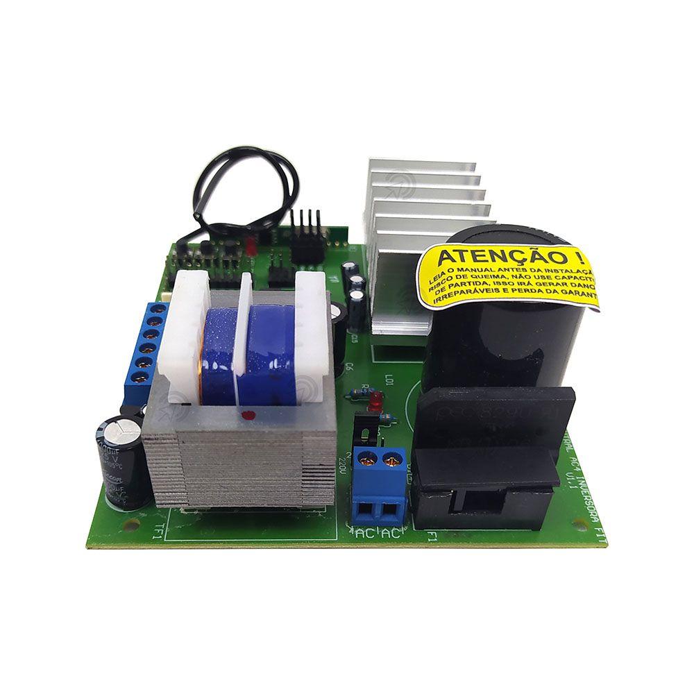 Central Placa Para Portão Automático 433Mhz Aumenta a Velocidade do Motor
