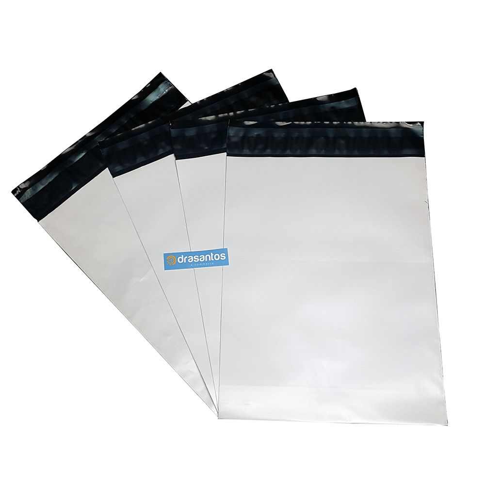 Envelope plástico correios com lacre 32x40 32 x 40 cm