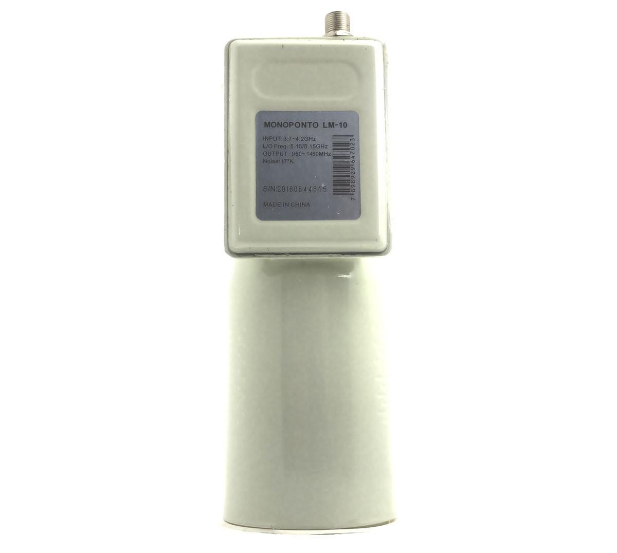 Lnbf monoponto para antena parabolica banda c Analógico, Digital e HD TV.