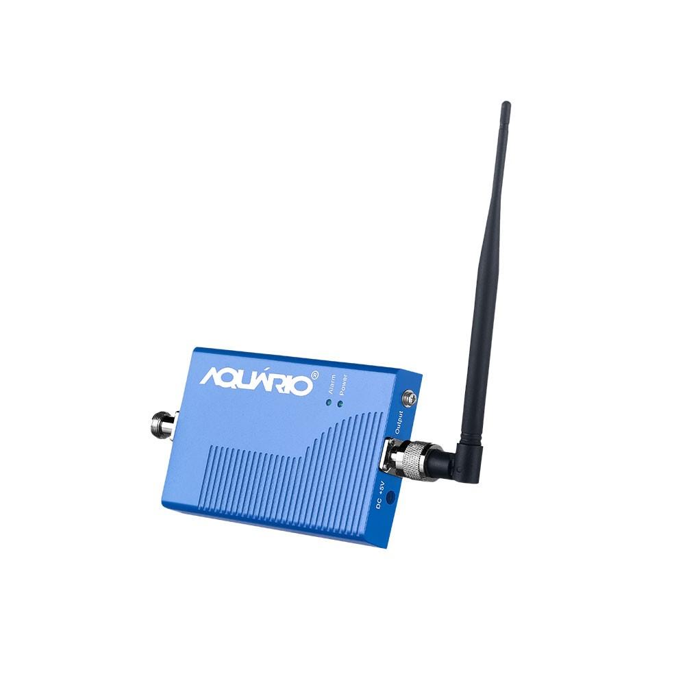 Mini Repetidor De Sinal De Celular E 3g 2100MHz RP 2160 Aquário + Antena E Cabo 15 M