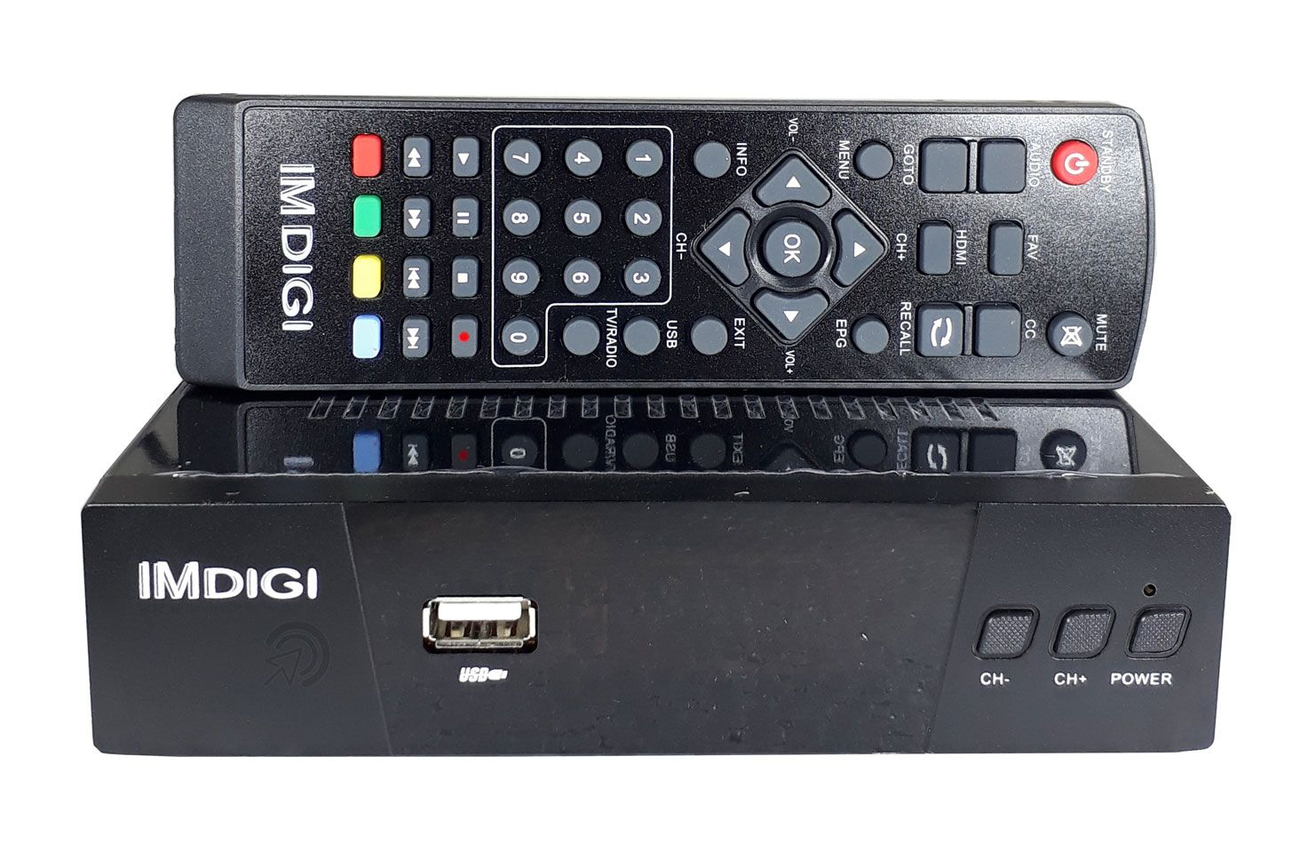 Kit Antena UHF Digital HDTV Externa + Conversor Digital HDTV USB com Gravador