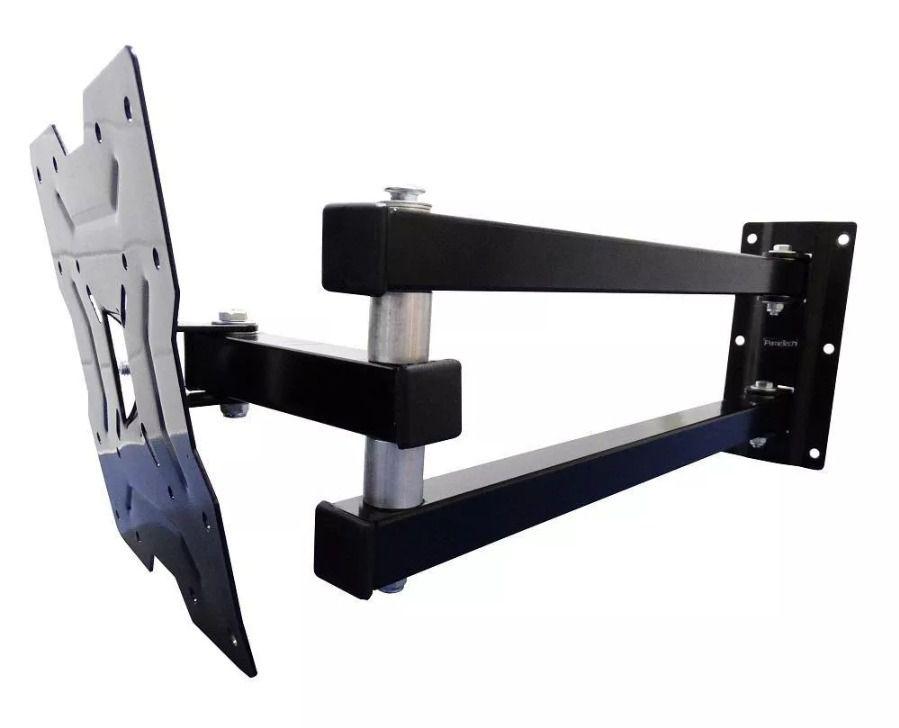 Suporte de Parede Articulado para TV até 55 Polegadas Braço Longo 66cm da Parede Suporta até 45kg
