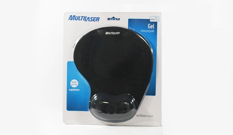 Mousepad com Apoio Ergonômico em Gel para o Punho Multilaser AC024