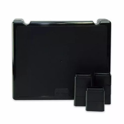 Suporte Base Ergonômico para Monitor 4 Níveis Até 17cm Multilaser AC125