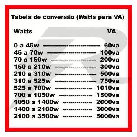 Auto Transformador 110 para 220 e 220 para 110 - Trafo 5000Va de Energia