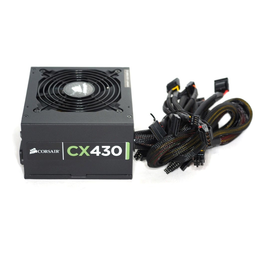 Fonte Corsair CX430 430W Reais 80 Plus Bronze