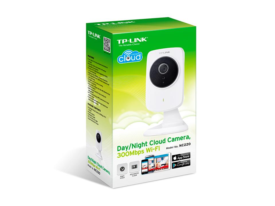 Câmera IP Wireless NC220 TP-LInk com Visão Noturna e Microfone