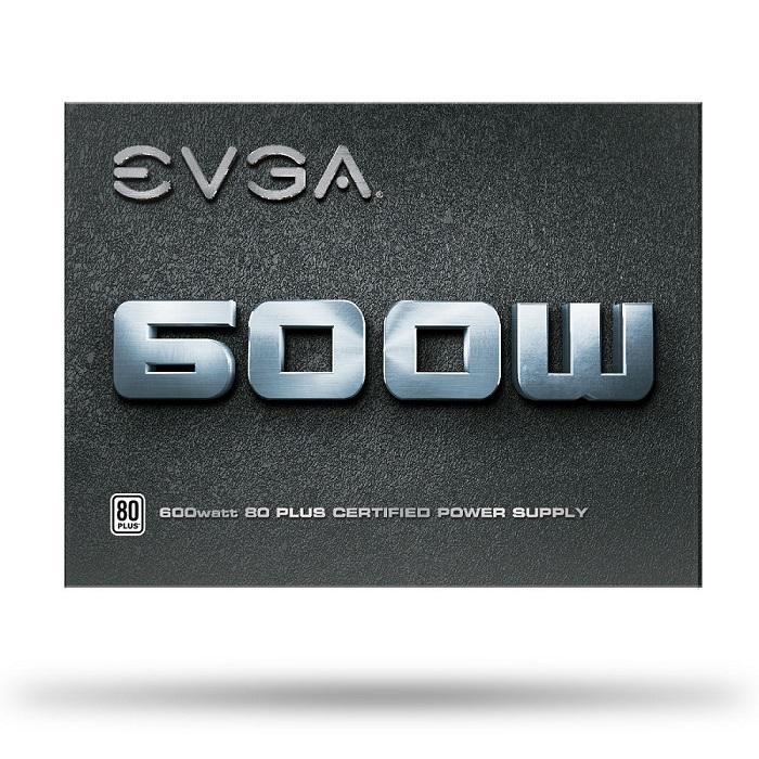 Fonte ATX EVGA 600W Reais 80 Plus White Para PC 100-W1-0600-K0