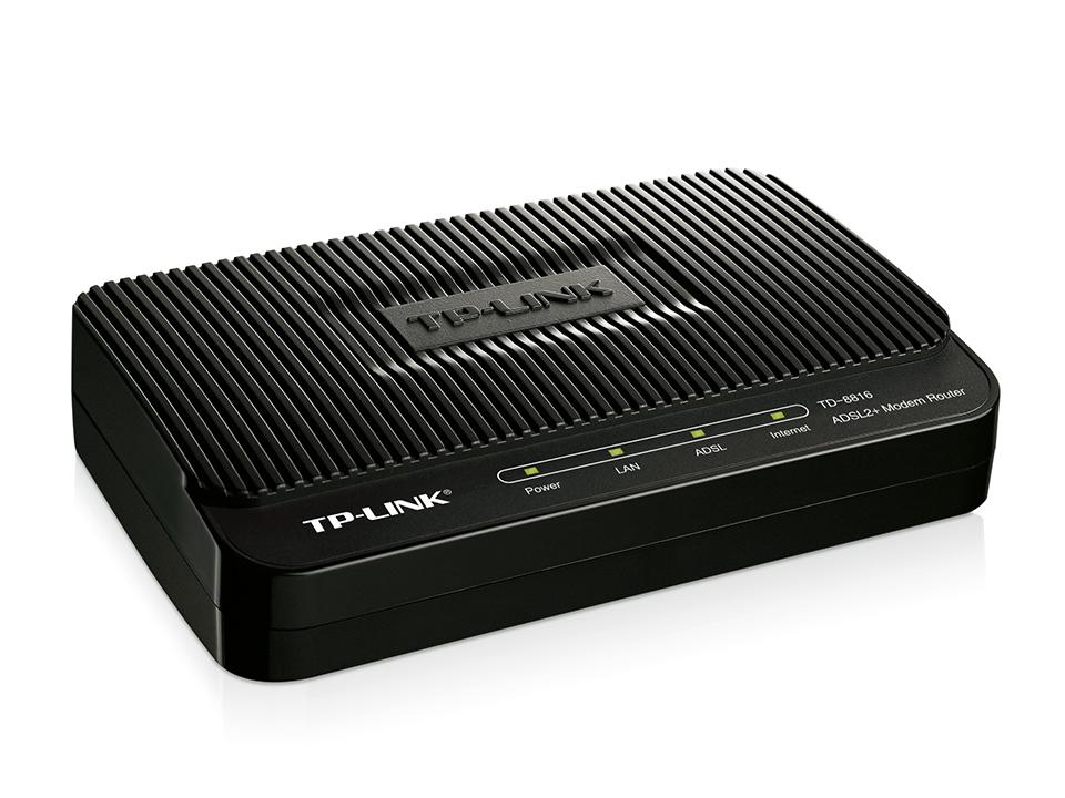 Modem ADSL2+ TP-LINK TD-8816 Para Todas Operadoras