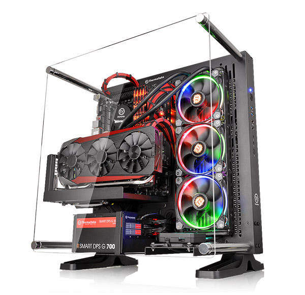 Gabinete Gamer Thermaltake TT Core P3 Black Mount Acrílico CA-1G4-00M1WN-02