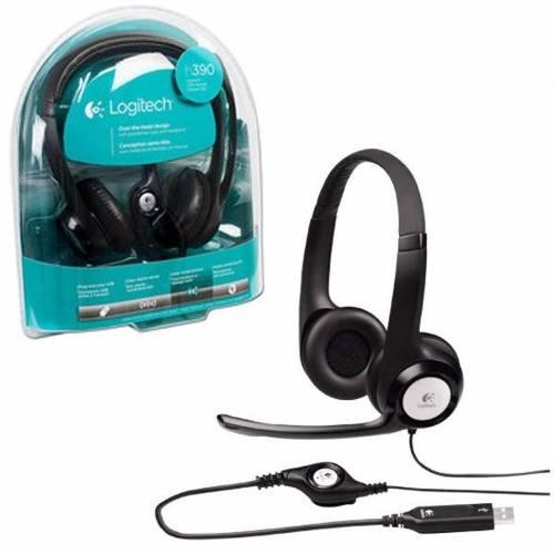 Fone de Ouvido Headset com Microfone Logitech H390 USB