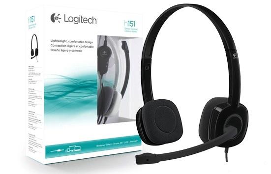 Fone de Ouvido Headset com Microfone Logitech H151 P2