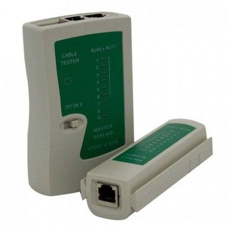 Testador de cabo de Rede RJ45 e Telefone RJ11