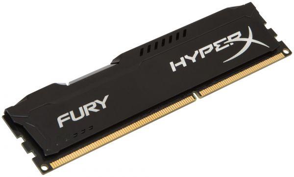 Memória DDR3 8GB 1866Mhz Kingston Hyper X Fury Para Computador HX318C10FB/8
