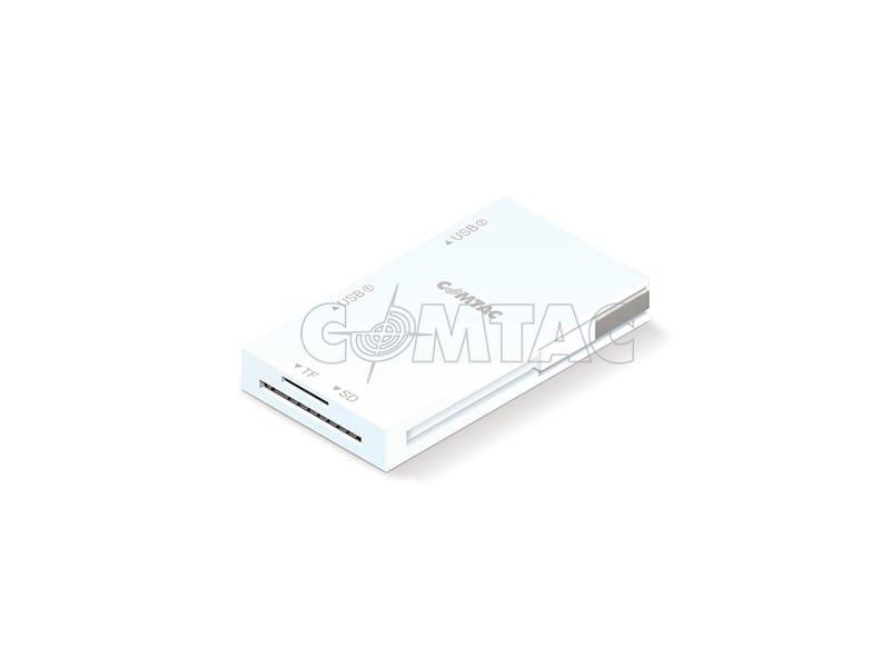 Combo Hub USB 2.0 Slim Com Leitor de Cartões Externo Comtac 9263