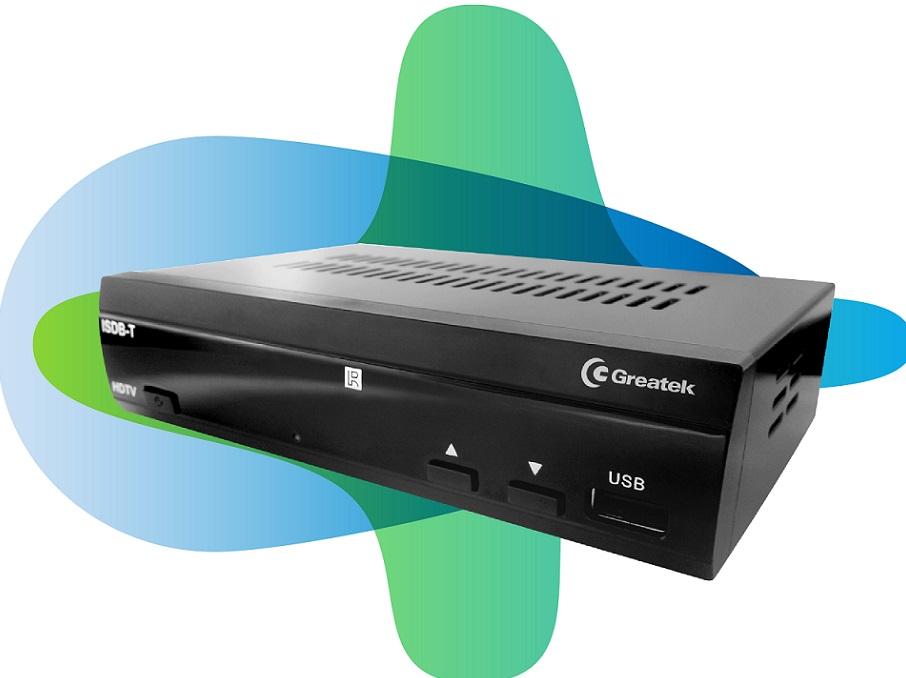 Conversor de Sinal Analógico para Digital Função Gravador Greatek G2000 Full HD