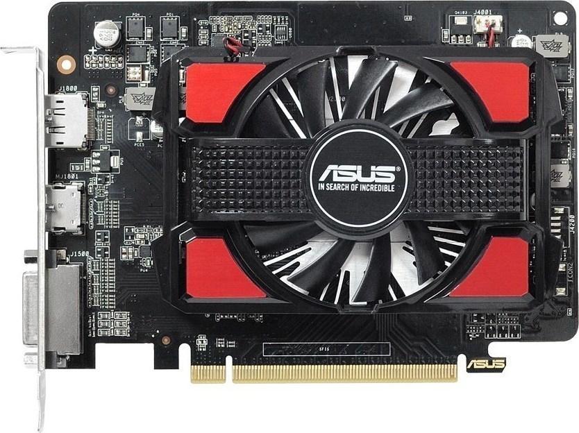 Placa de Vídeo Asus R7 250 V2 1GB GDDR5 128 Bits 90yv0920-m0na00