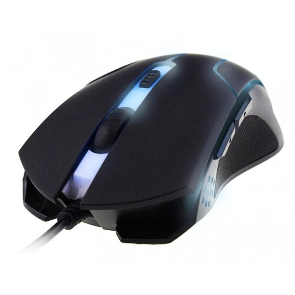 Mouse Óptico Gamer Usb 6D Wired G-Fire Com LED Azul MOG013LGLB