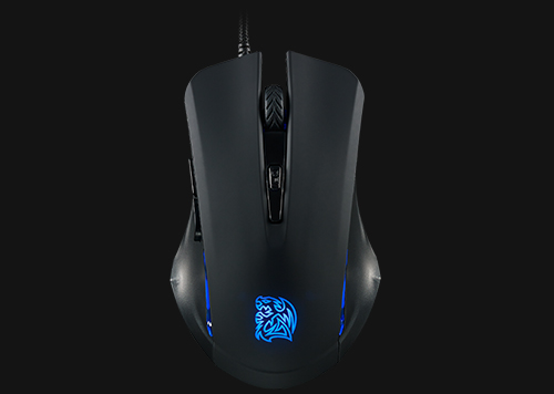 Kit Teclado e Mouse Gamer Thermaltake Sports Commander KB-CMC-PLBLPB