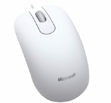 Mouse Microsoft 200 Branco Optical Usb Original Laser Optico