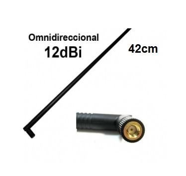 Antena Internet Wireless Omni Direcional 12 dbi 42cm