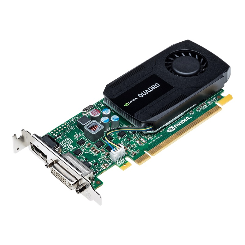 Placa de Vídeo Quadro K420 PNY Nvidia 2GB PCI-E Retail English VCQK420-2GB-PB