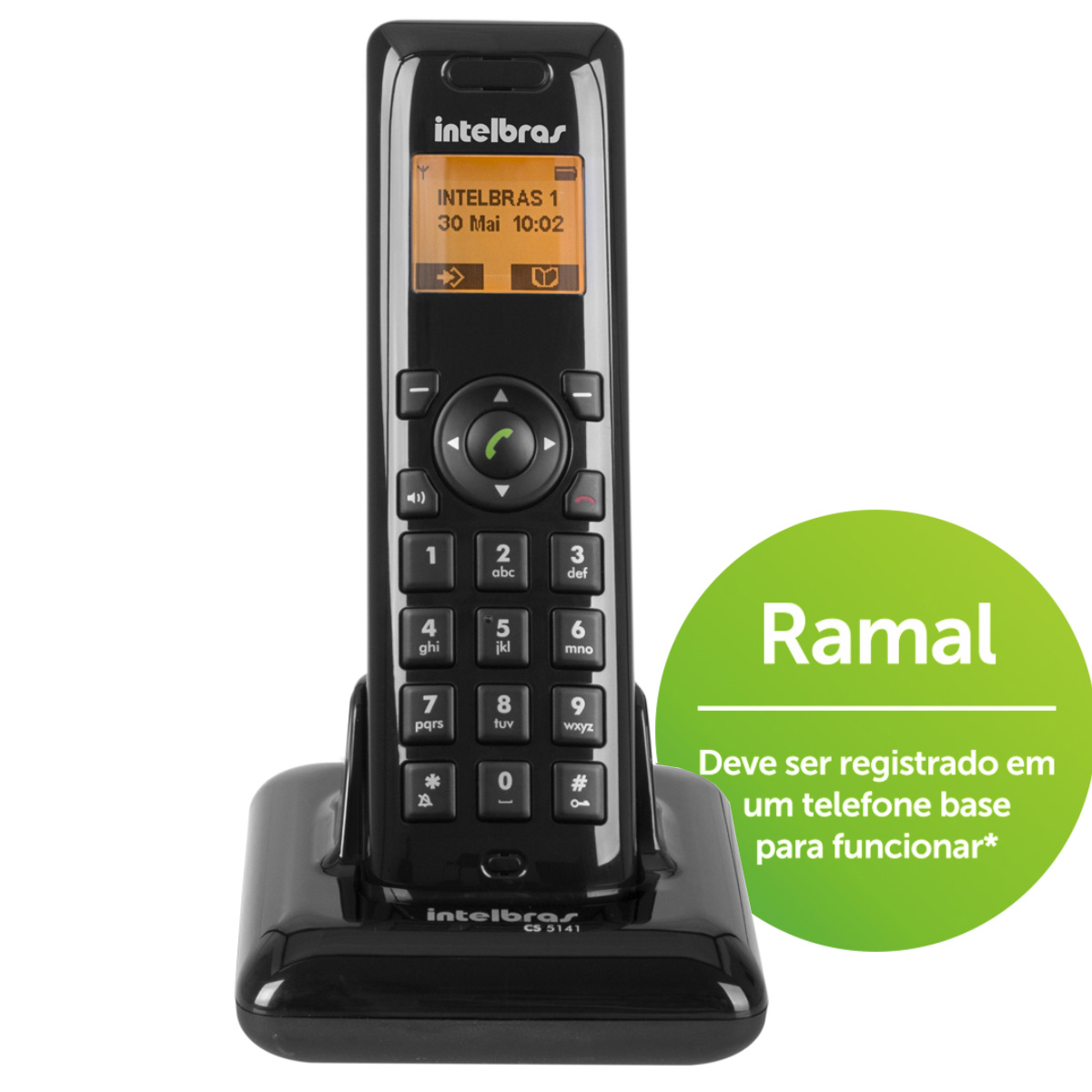 Ramal CS 5141 para Telefone Rural Intelbras Cs 5140