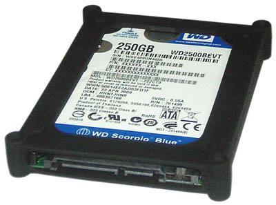Capa Protetora em Silicone para HD de Notebook 2,5 Comtac 9111