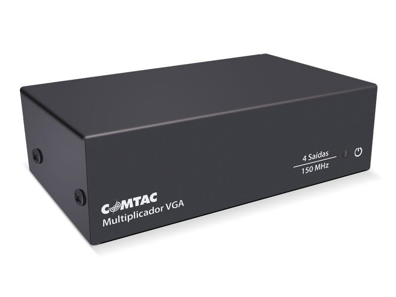 Multiplicador de Vídeo VGA Divisor Spliter 4 Saídas Comtac 9217 R.03