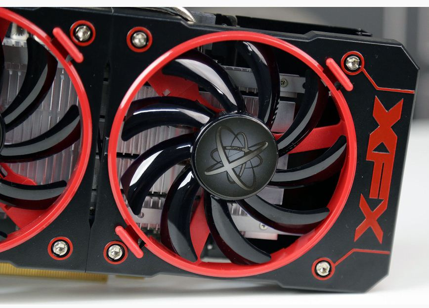 Placa de Vídeo RX 460 XFX Radeon 2GB GDDR5 2 Coolers RX-460P2DFG5