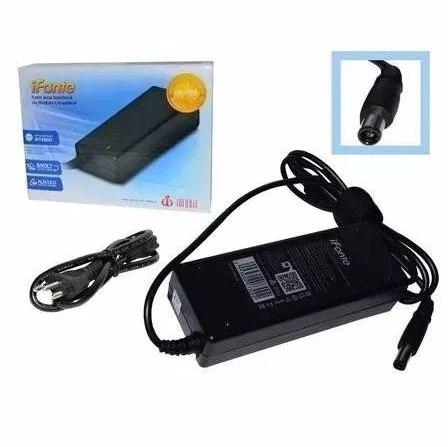Fonte Carregador Para Notebook Dell 19,5v 4.62a 90w Plug 7,4mm x 5,0mm DE-90 InfoKit