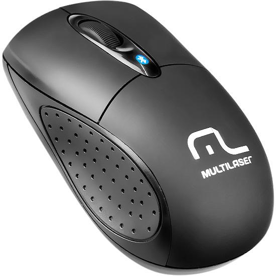 Mouse sem fio Bluetooth Multilaser 1200 DPI MO148