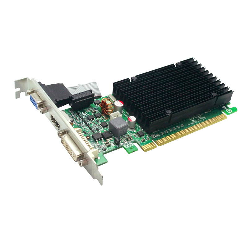 Placa de Vídeo EVGA GeForce 210 1GB PCI-E Com Perfil Baixo 01G-P3-1313-KR
