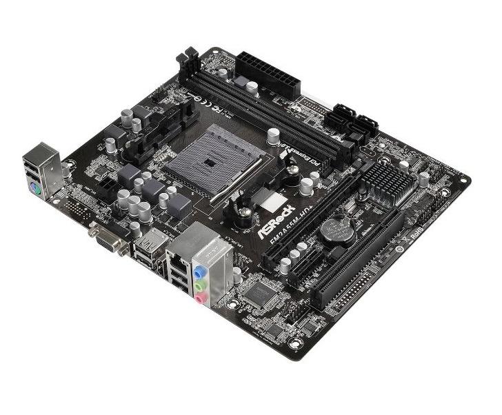 Placa Mãe Asrock FM2A55M-HD+ R2.0 DDR3 Socket FM2/FM2+