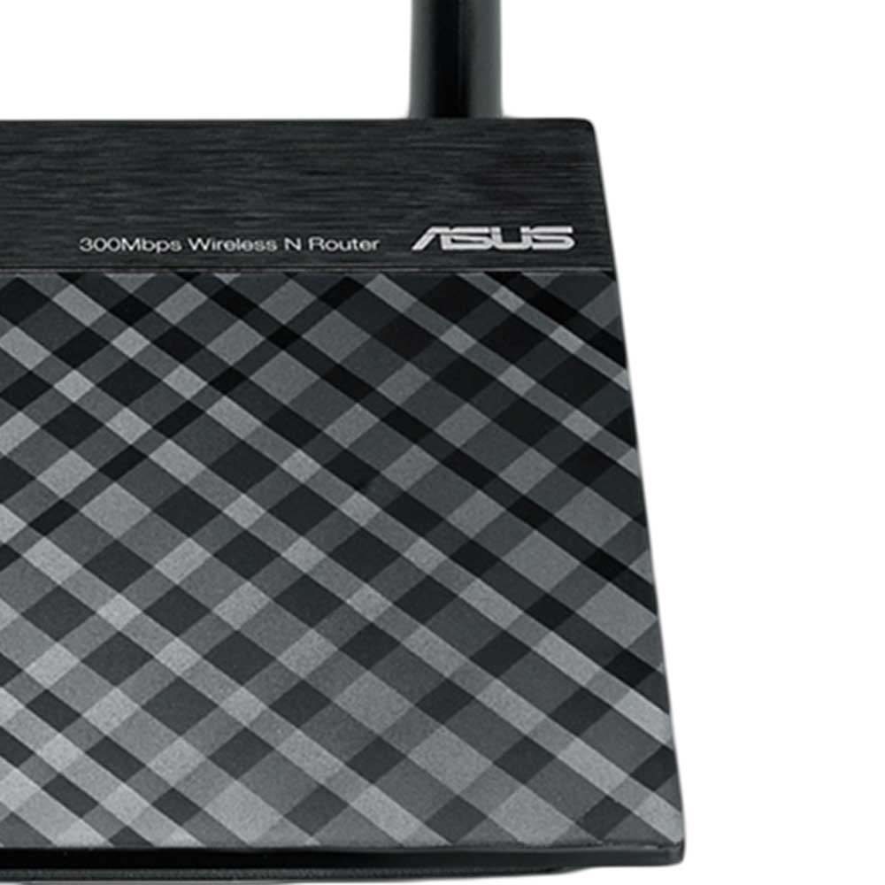 Roteador, Repetidor e Access Point Asus RT-N300 Wifi N300 2.4Ghz 300Mbps