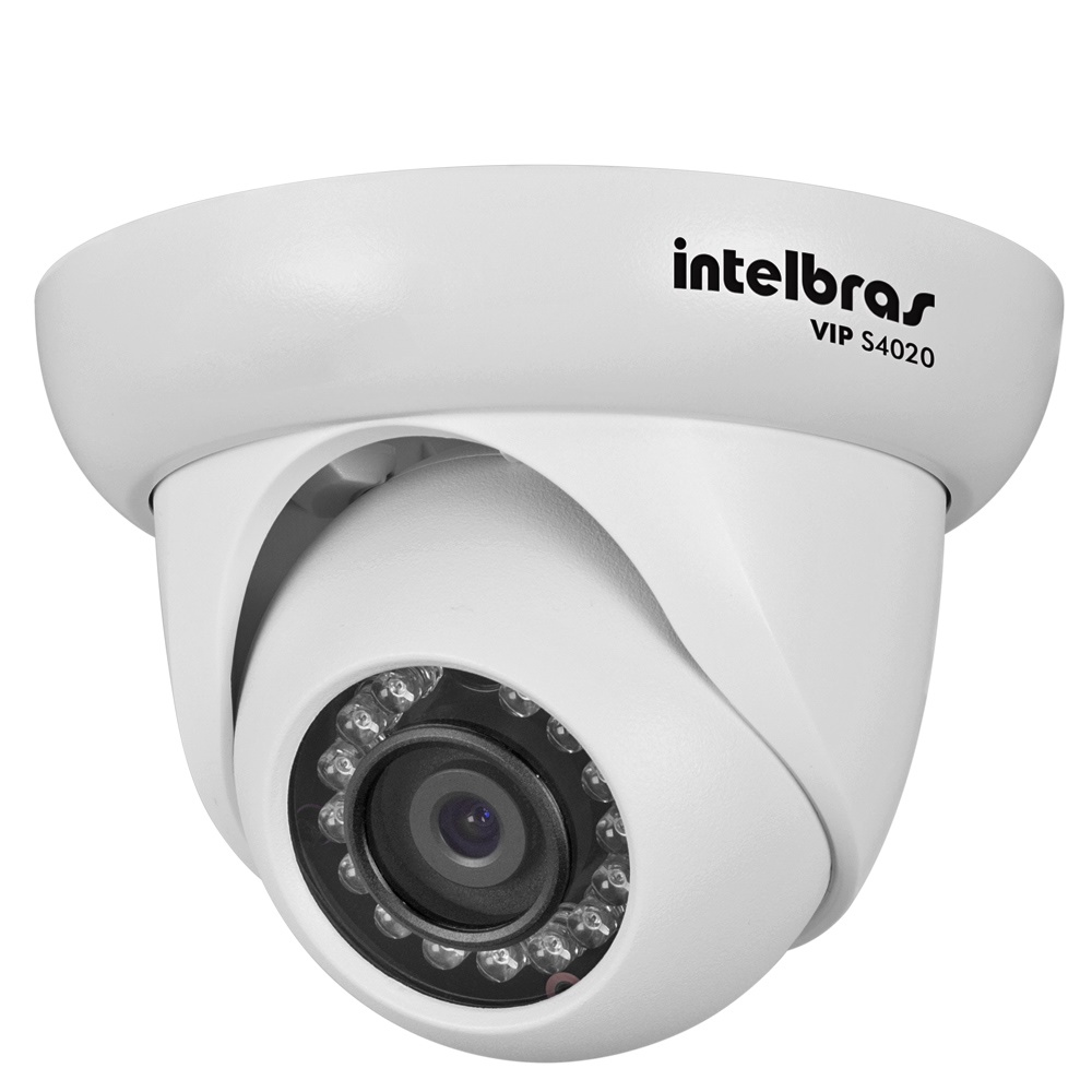 Câmera IP VIP S4020 Dome 720P 3,6mm Intelbras