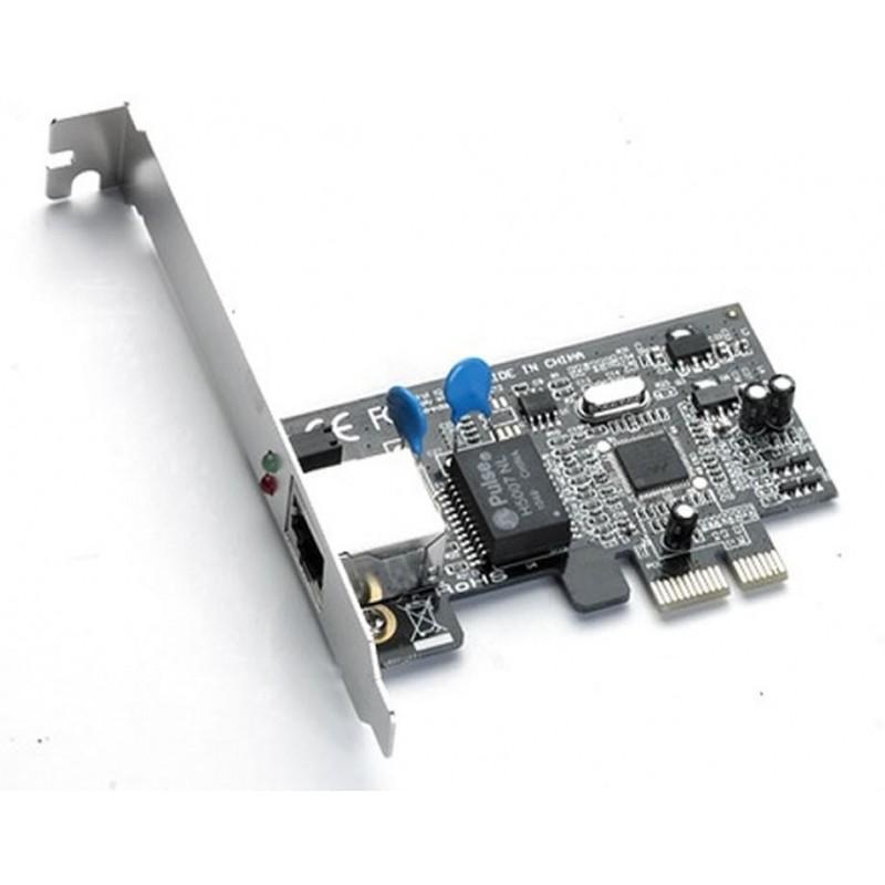 PLACA DE REDE PCI-e X1 Gigabit FPR02 FEASSO c/ Perfil Baixo