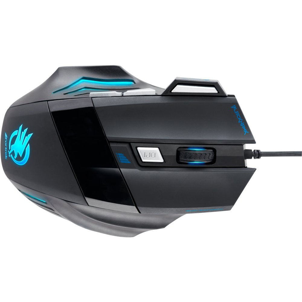 Mouse Gamer Fortrek Optico USB Black Hawk 2400 DPI - OM703