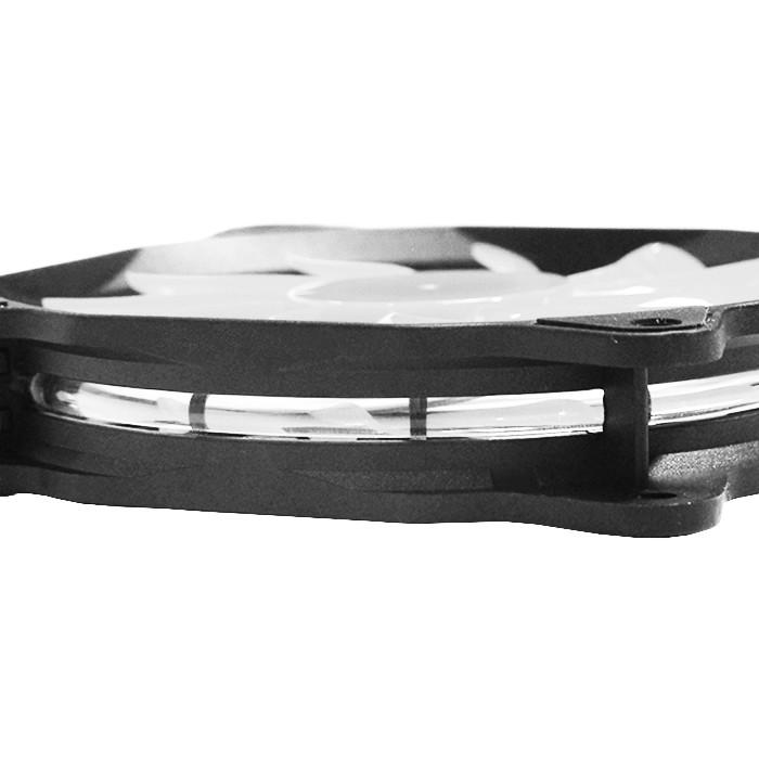 Cooler Fan 120mm com LED Branco DEX DX-12F