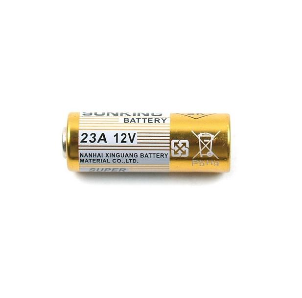 Bateria Íon de Litio 23A 12V Sunking Pilha Alcalina Cartela 5 Unidades