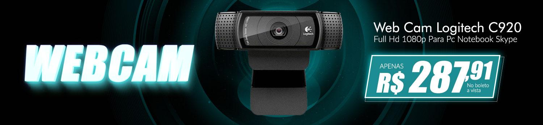 Webcam C920 Logitech
