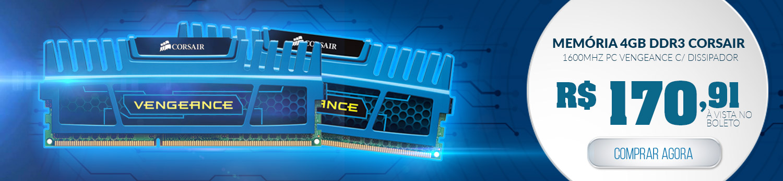 Memória 4GB DDR3 em Promoção